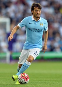 David Silva is at the centre of Manchester City's attack.